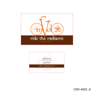 Business Card Design for OmVelo by Maggie Jo