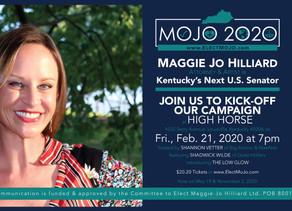 Campaign Kick-Off Party To Elect MoJo 2020