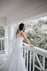 Bride on the Balcony