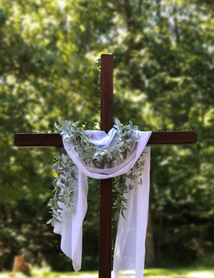 8' Wood Cross