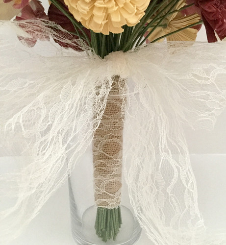 Lace Wrapped Handle
