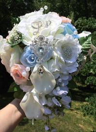 Bridal Cascading Brooch Bouquet