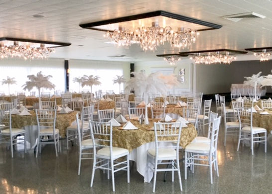 Wedding Decor at Woodhaven Country Club in Louisville KY