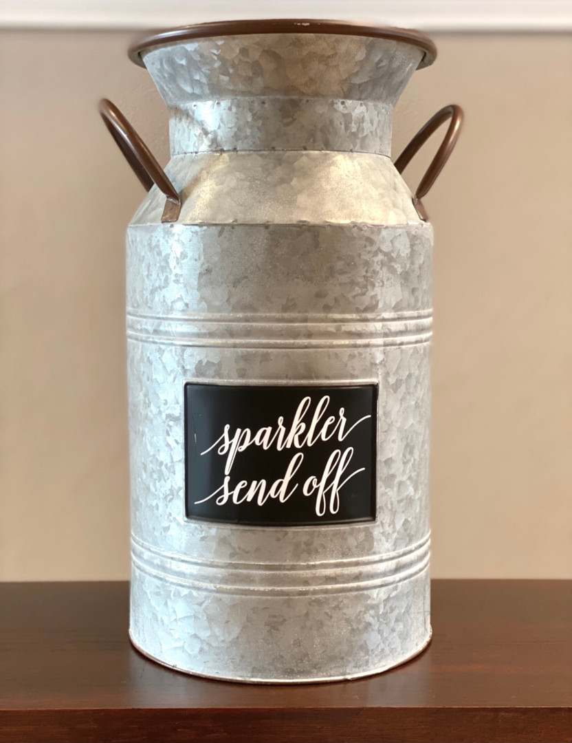 Sparkler Send-Off Container