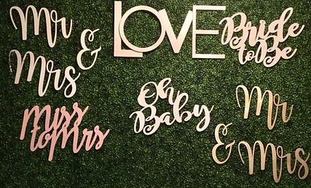 Flwer Wall Signs