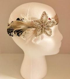 Flower Girl 20's Headband