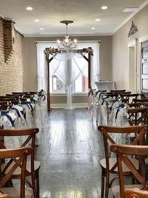 Upstairs Wedding Set-up
