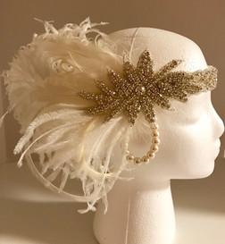 Bridal 20's / Gatsby Headpiece