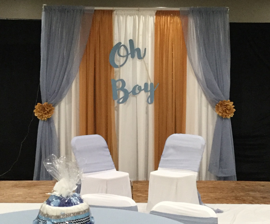 Backdrop for Baby Shower