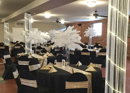 Gatsby Event Decor