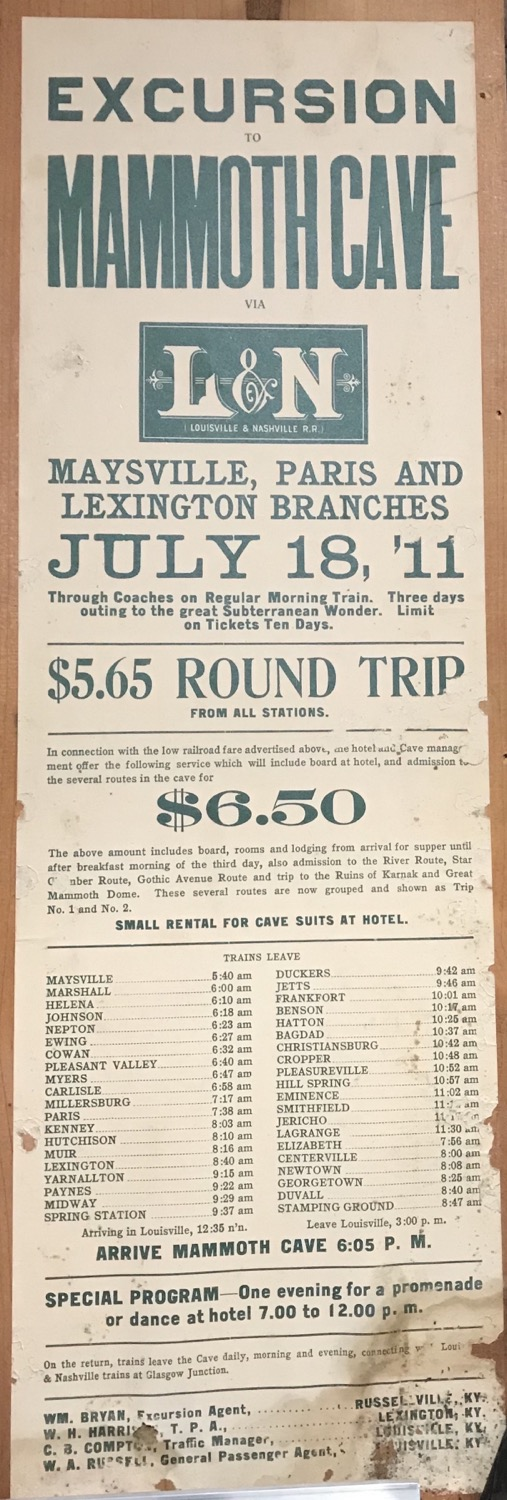 L&N Railroad Trip Excursion