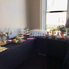 Buffet Tables for Brunch