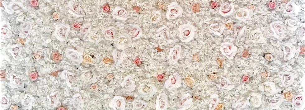 Custom Flower Wall