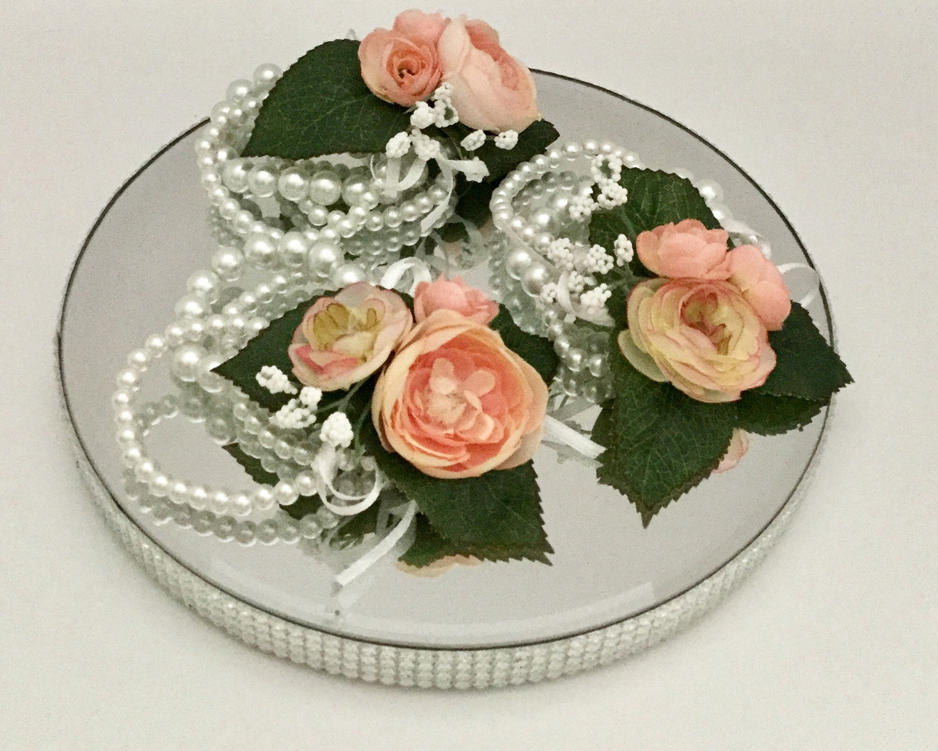 Pearl Wristlet Corsages