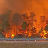 Wildfires on i-75