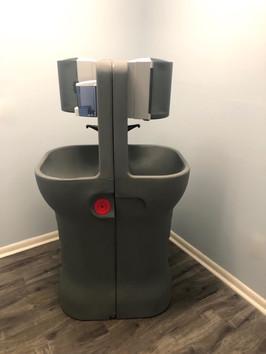 AquaStand portable handwash station