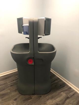 Estação de lavagem de mãos portátil AquaStand