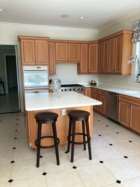 1. Kitchen on Natures Cove Ct in Estero, FL (BEFORE)