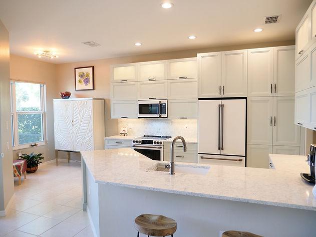 Kitchen remodel in Copperleaf at the Springs, Bonita Springs, FL