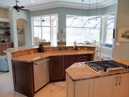 8. Kitchen remodel on Pelican's Nest Dr