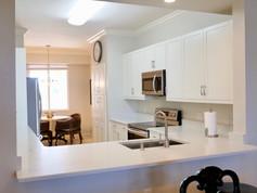 17. Kitchen in condo at 8450 Kingbird Loop