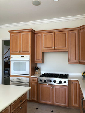 5. Kitchen on Natures Cove Ct in Estero, FL (BEFORE)