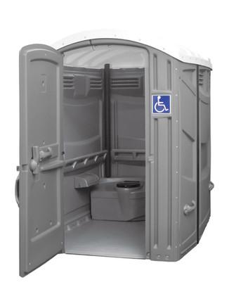 ADA compliant portable toilet