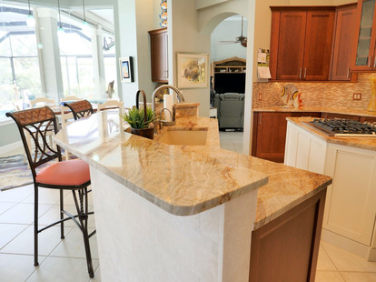 5. Kitchen remodel on Pelican's Nest Dr