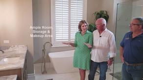 Kitchen Designer Episode 8 - Functional, modern, updated bathroom & laundry room