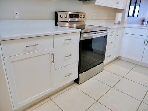 18. Kitchen in condo at 8450 Kingbird Loop