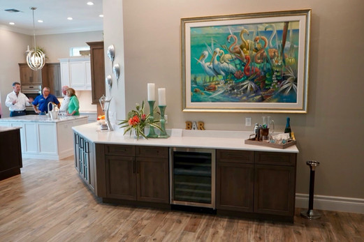 17. Kitchen & living room remodel on Collier's Reserve Dr in Naples, 34110