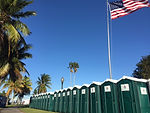 Portable restroom rentals in Florida