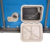 Rear compartment open