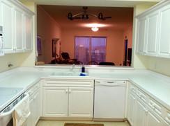 8. Kitchen in condo at 8450 Kingbird Loop