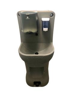 Draagbare handwasbak voor buiten