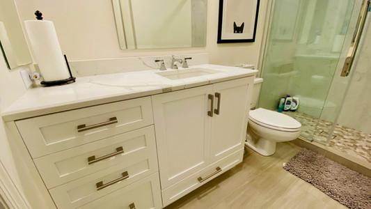 15. Guest bathroom remodel on Quail Crown Dr.