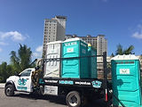 Portable restroom rentals for Construction Sites in Lee, Collier, & Charlotte counties.