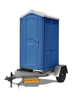 Portable toilet trailers for sale