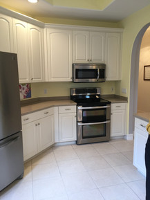 13. Kitchen on Sara Ceno Dr. Estero, FL BEFORE remodel