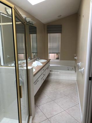 16. Master bathroom renovation on Quail Crown Dr.