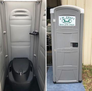 JW Craft's Handy Portable Toilet Rental
