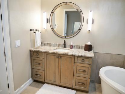 19. Master bathroom on Sara Ceno Dr. Estero, FL AFTER remodel