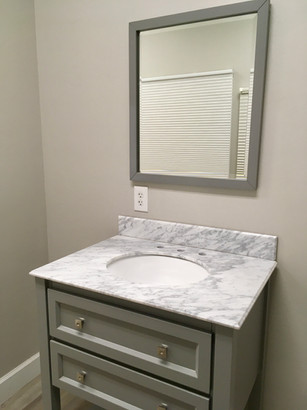 Alder style vanity by Elements