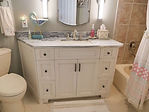Bathroom cabinets installed in home in Pelican Landing, Bonita Springs, FL