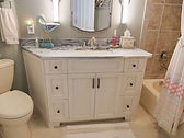 Bathroom cabinets installed in home in Pelican Landing, Bonita Springs, FL