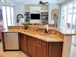 3. Kitchen remodel on Pelican's Nest Drf