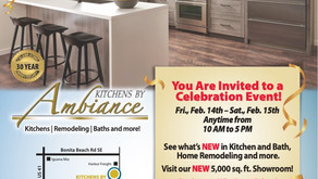 Bonita Springs Kitchen Remodeling Company Celebrates 30 Years and Grand Re-Opening