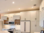 Kitchen cabinets installed at Copperleaf at the Springs, Bonita Springs, FL