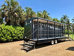 Luxury restroom trailer rentals in Florida