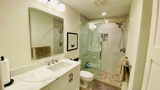 14. Guest bathroom remodel on Quail Crown Dr.